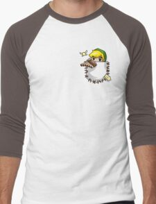 Pocket Link Men's Baseball ¾ T-Shirt