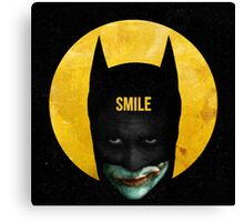 Smile Canvas Print