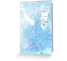 Harry Styles Watercolor Greeting Card