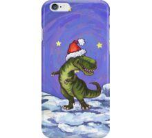 Tyrannosaurus Christmas iPhone Case/Skin