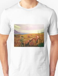 Frank Zappa Meets Salvador Dali. Surreal Painting Unisex T-Shirt