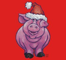 Pig Christmas Kids Clothes