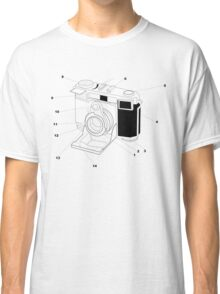 Contessa Retro Camera Classic T-Shirt