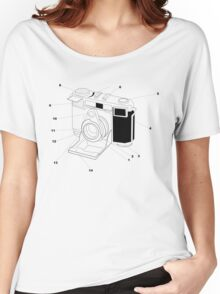 Contessa Retro Camera Women's Relaxed Fit T-Shirt