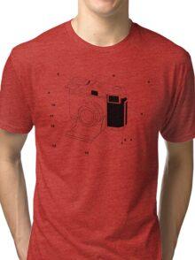 Contessa Retro Camera Tri-blend T-Shirt