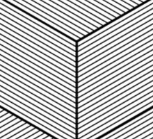 Geometric Illusion Sticker