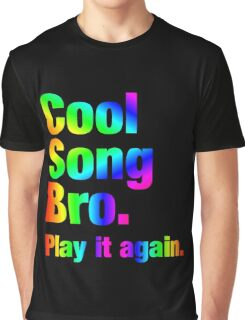 Cool Song Bro Graphic T-Shirt