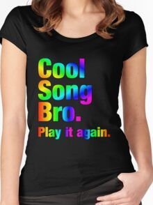 Cool Song Bro Women's Fitted Scoop T-Shirt