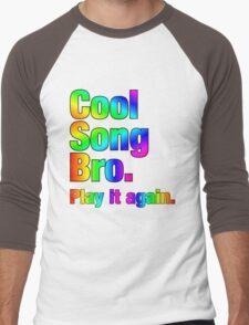 Cool Song Bro Men's Baseball ¾ T-Shirt