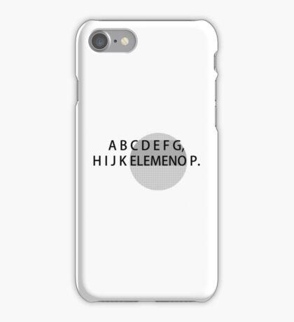 ABC's iPhone Case/Skin