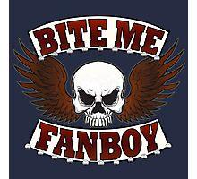 Bite Me Fanboy - Lobo Photographic Print