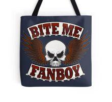 Bite Me Fanboy - Lobo Tote Bag