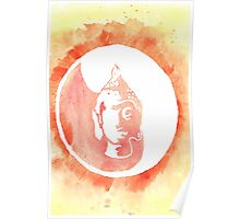 Buddha Watercolor Poster