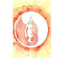 Buddha Watercolor Photographic Print