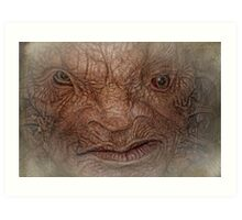 The Face of Boe  Art Print