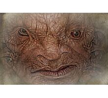 The Face of Boe  Photographic Print