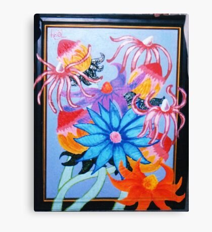 fluttery flowers Canvas Print