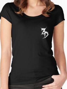 Zeds Dead Logo Women's Fitted Scoop T-Shirt