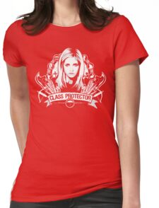 Class Protector  Womens Fitted T-Shirt