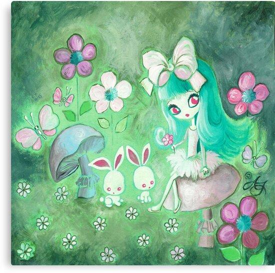 Bunny Glade by TenshiNoYume
