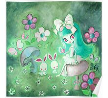 Bunny Glade Poster