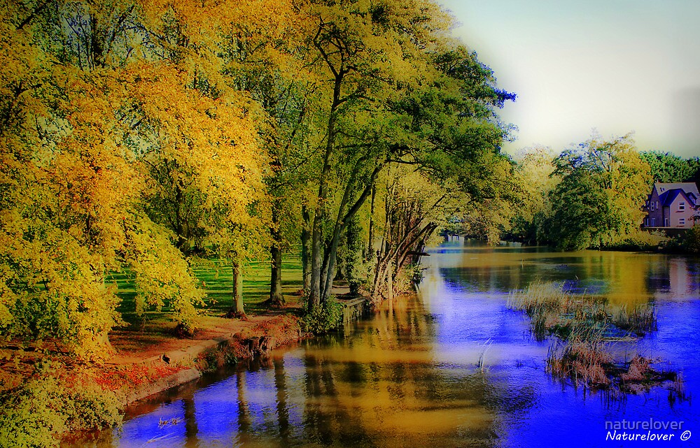 Fall By The River by naturelover