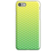 Flower of Life - Green iPhone Case/Skin