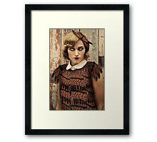 Butterfly Flapper Framed Print