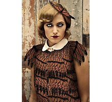 Butterfly Flapper Photographic Print