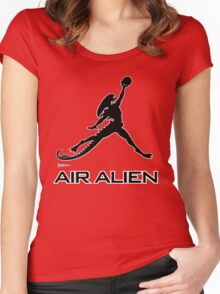 Air Alien Women's Fitted Scoop T-Shirt