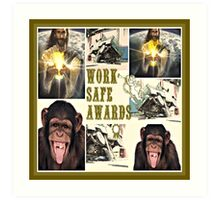 work safe awards Art Print