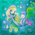 The Mermaid's Sea Horse by TenshiNoYume