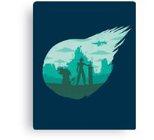 Valley of the fallen star Canvas Print