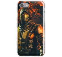 Mortal kombat Scorpion iPhone Case/Skin