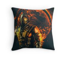 Mortal kombat Scorpion Throw Pillow