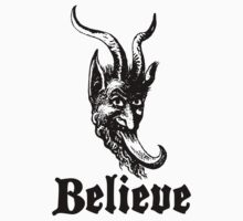 Believe In Krampus by Look Human
