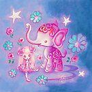 Elephant Paradise by TenshiNoYume