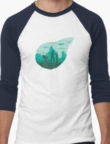 Valley of the fallen star Men's Baseball ¾ T-Shirt