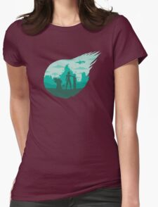 Valley of the fallen star Womens Fitted T-Shirt