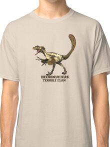 "Deinonychus ""terrible claw"" T_shirt Classic T-Shirt"