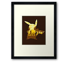Yellow Companion Framed Print