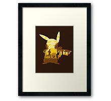 Yellow Companion Framed Print