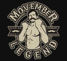 Movember Legendary Mustache by DCVisualArts