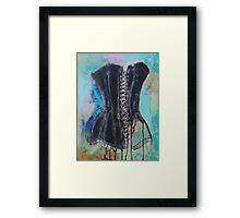 corset #7 Framed Print