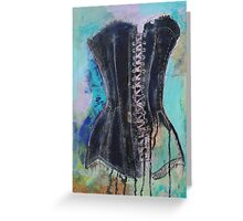 corset #7 Greeting Card