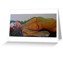 extending the arms of life Greeting Card