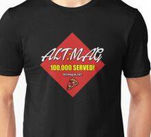 Alt:Mag Promo - 100,000 Served! Unisex T-Shirt