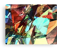 Coloring Shapes With Texture Canvas Print