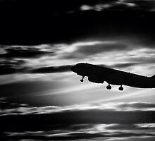 Airplane Into the Night by Matt Keil