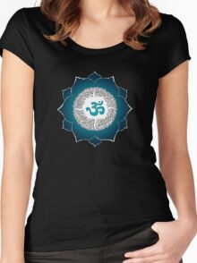 Aum 2 Women's Fitted Scoop T-Shirt
